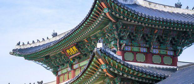 Orientalna budowla z Chin