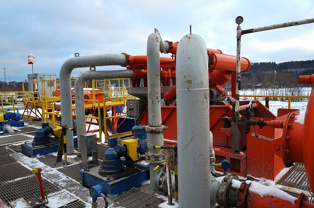 wydobywanie gazu łupkowego