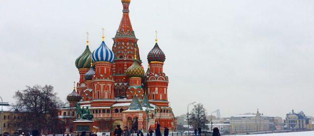 Plac Czerwony zimą