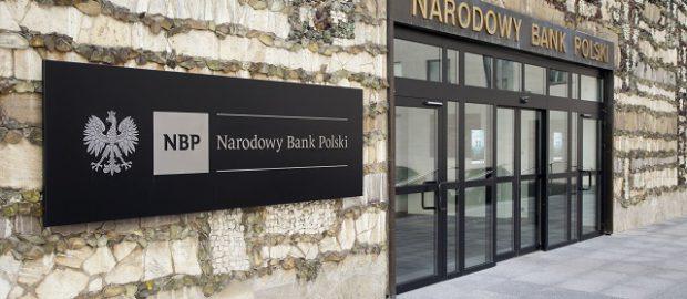 Wejście do Narodowego Banku Polskiego