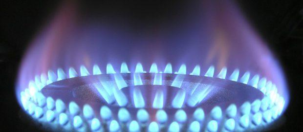 płomień gazu