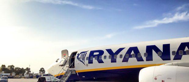 Wejście na pokład Ryanair
