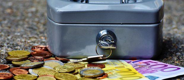 Kasetka z pieniędzmi