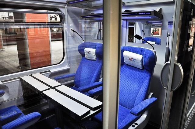 Wagon pociągu intercity