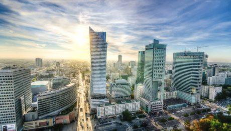 Warszawa skyline