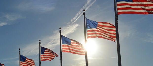 Amerykańskie flagi