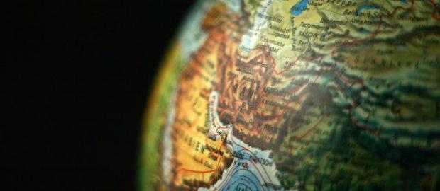 Bliski Wschód na globusie