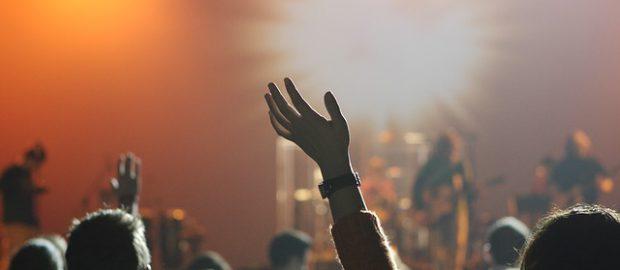 Tłumy na koncercie