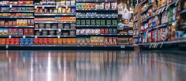 Aleja w supermarkecie