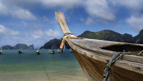 łódź nad morzem