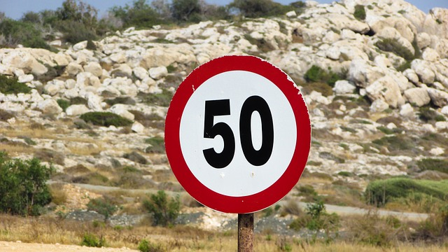 znaako ograniczenia prędkości