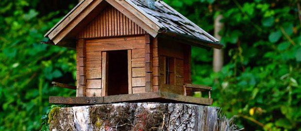 miniaturowy domek