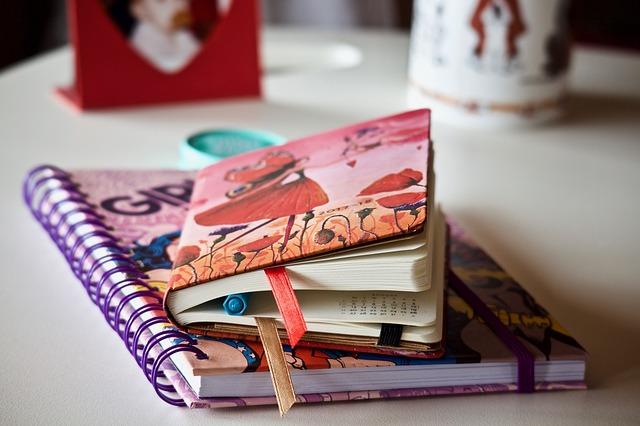 Kolorowe notatniki