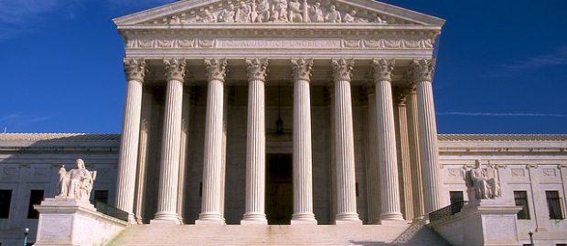 Budynek Sądu Najwyższego w Waszyngtonie