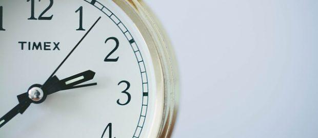 zegarek ze wskazówkami