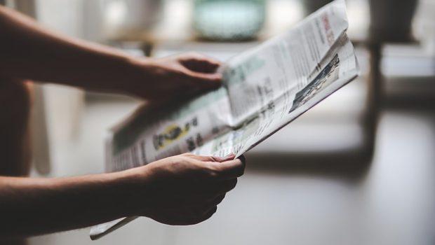 Przeglądanie gazety