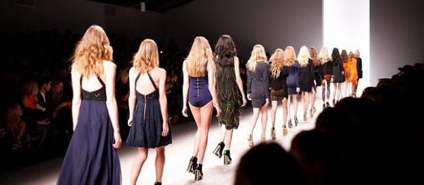 Modelki pokaz mody