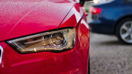 Światła auta