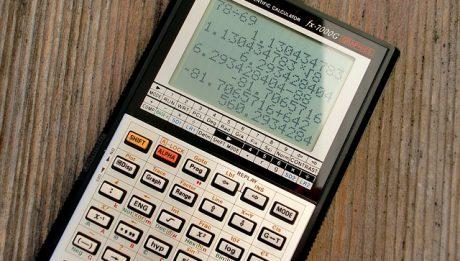 Kalkulator z wyliczeniami