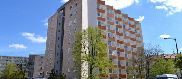 Budynek bloku mieszkaniowego