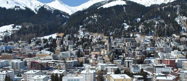 Davos zimą