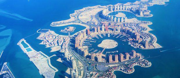 Katar z lotu ptaka