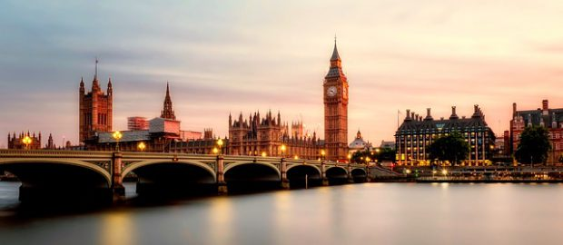 Widok na Londyn