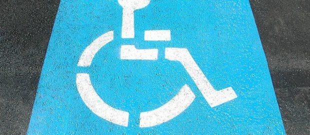 Oznaczenie parkingu dla niepełnosprawnych