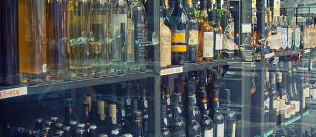 Sklep z alkoholami