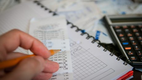 Obliczeniach rachunków