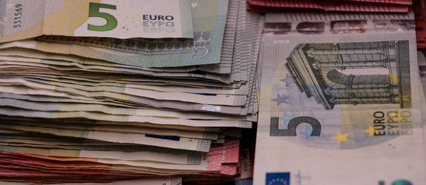 Banknoty 5 euro