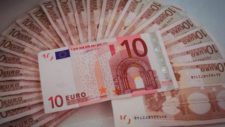 Banknoty 10 euro