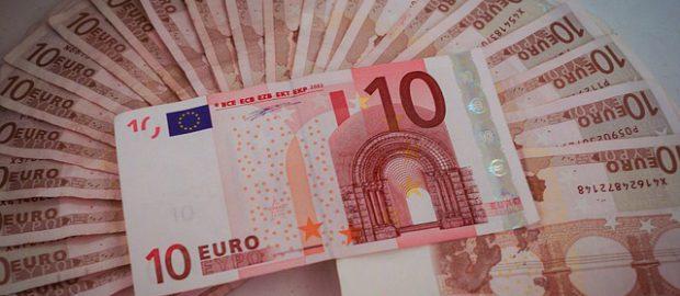 Banknoty 10 euro