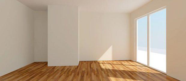 Puste pomieszczenie mieszkalne