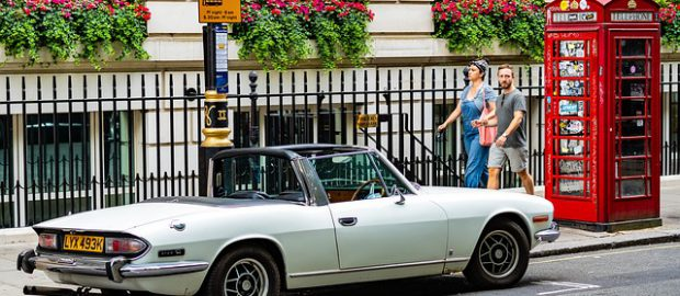 samochód w Wielkiej Brytanii