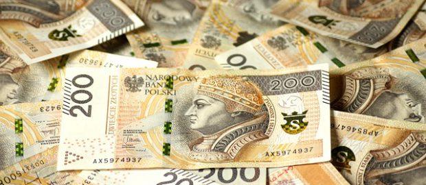 Rozrzucone banknoty
