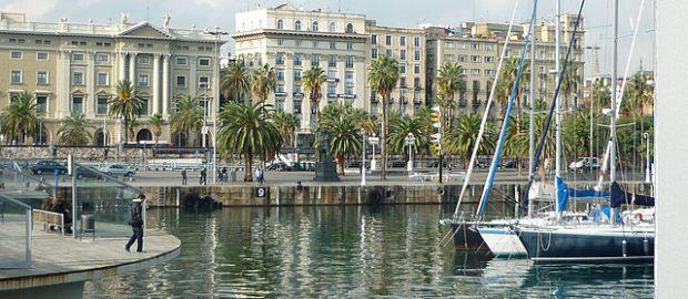 port w Barelonie