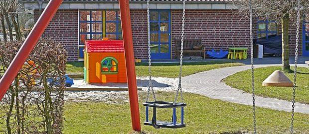 Przedszkole i plac zabaw