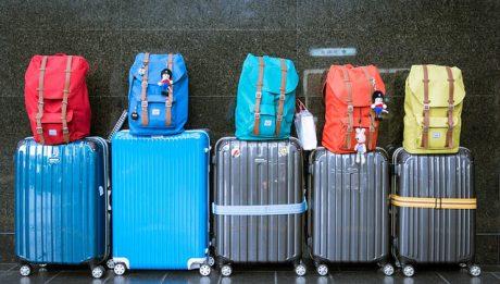 dużo bagażu