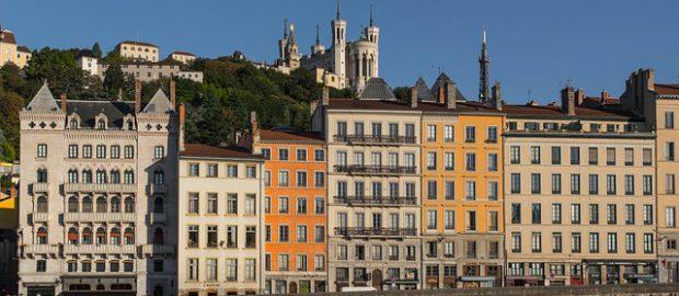domy w Lyonie