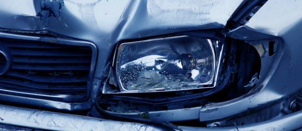 reflektor po wypadku