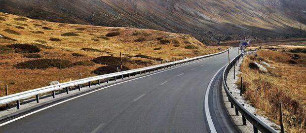 autostrada w górach