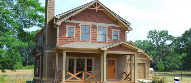 nowo postawiony dom