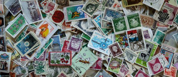 Rozrzucone znaczki