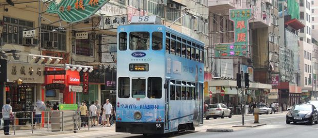 tramwaj w Hongkongu