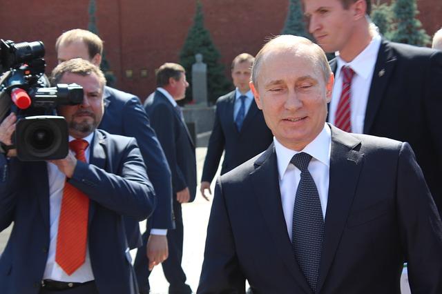 Spacerujący Putin