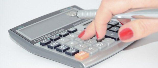 Liczny na kalkulatorze